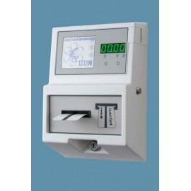 Temporizador digital por tarjetas magnéticas desechables