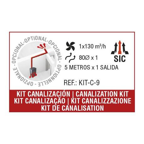 KIT canalización C-9