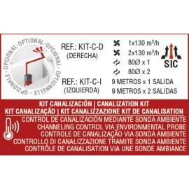 KIT canalización izdo para CLARA, OLIVIA, CLEO y DORA